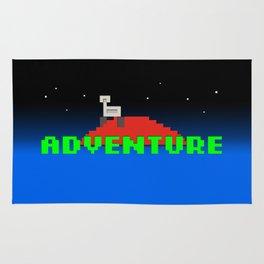 8-Bit Adventure On Mars Rug