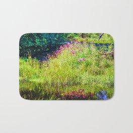 Monet's creek Bath Mat