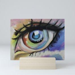 Anime Eye, Amazing eyes, original art by Luna Smith Art, LuArt Gallery Mini Art Print