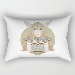 Valkyrie Viking Nordic Norse Myth Valhalla Gift Rectangular Pillow