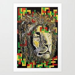 Lion In Zion Art Print