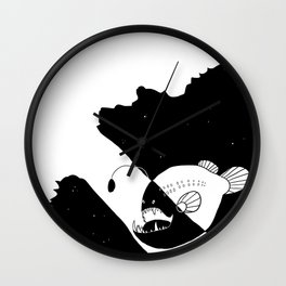 Hanklerfish  Wall Clock