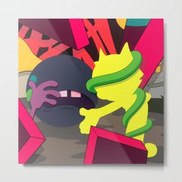 KAWS - Presenting the Past Metal Print
