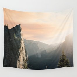 Mountains landscape 4 Wall Tapestry