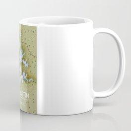 Lake Martin Alabama Travel poster. Coffee Mug