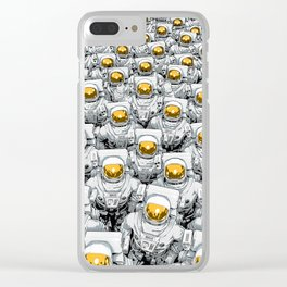 We Come in Peace Clear iPhone Case