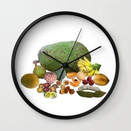 Exotic Fruit Wall Clock