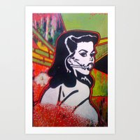 bond Art Prints featuring bond by jasondavis