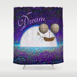 Halcyon Dreams Shower Curtain