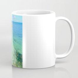 Exotic Blue Lagoon Indian Ocean Coral Reef Seascape Coffee Mug