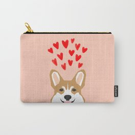 Valentines - Love Corgi  Carry-All Pouch