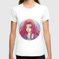 redhead T-shirts featuring Cute Redhead by Elisa Ellie Serio