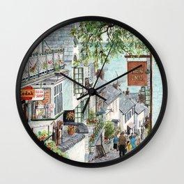 Clovelly, Devon. Wall Clock