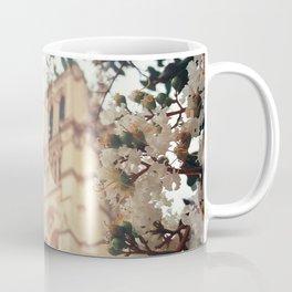 blossoms over Notre-Dame Coffee Mug