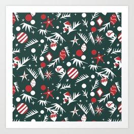 1960 Holiday Art Print