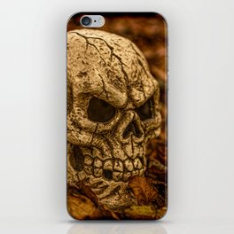 Halloween Skull 1 iPhone Skin