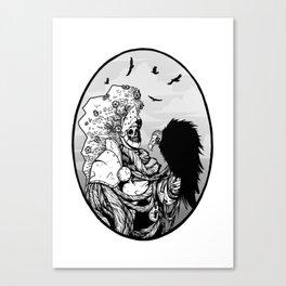 Knighthawk Canvas Print