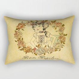 Petite Pompadour Rectangular Pillow