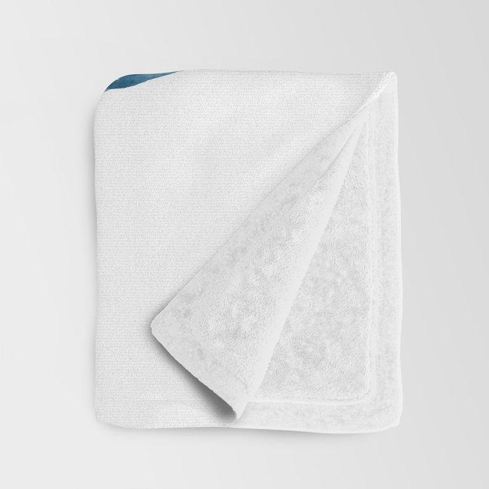 Sea Turtle Family, family art Throw Blanket