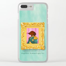 Dachshund the Romantique Clear iPhone Case
