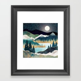 Star Lake Framed Art Print