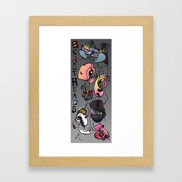 Beastheads  Framed Art Print