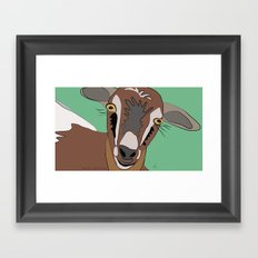 She-Goat / Chilleria Palmera Framed Art Print