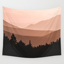 Lost in the Smoky Mountains Wall Tapestry