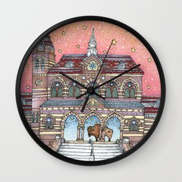 Chapel Hall Gallaudet University Wall Clock