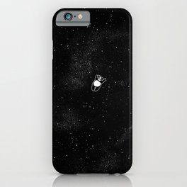 Gravity Panda iPhone Case