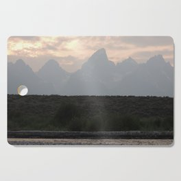 Grand Tetons by the Snake River Cutting Board
