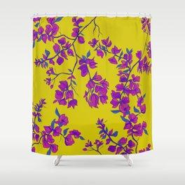 Bougainvillea casa yellow Shower Curtain