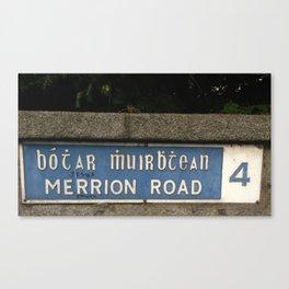 Merrion Funny Canvas Print