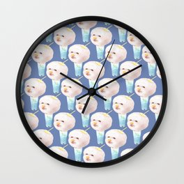 Cotton Candy Drink Wall Clock