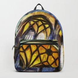 Vienna Cathedral Vincent Van Gogh Backpack