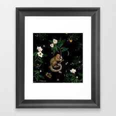 Monkey World: Amber-Ella Framed Art Print