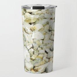 stone texture Travel Mug