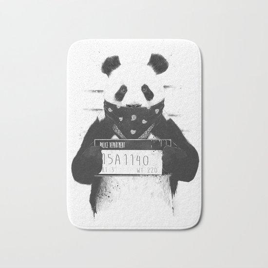 Bad panda Bath Mat