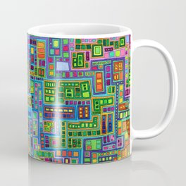 Tiled City Coffee Mug