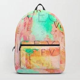 Uplifting Vegetus Energy Art  Backpack