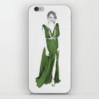 emma stone iPhone & iPod Skins featuring Emma Stone by stardustsoul