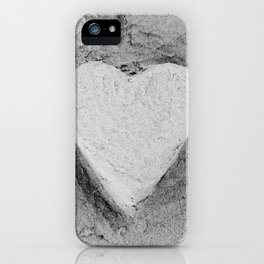 Sand Castle Heart iPhone Case