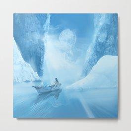 white landscape Metal Print