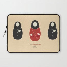 Persepolis, movie poster, graphic novel, cartoon by Marjane Satrapi, animated biography about Iran, Laptop Sleeve