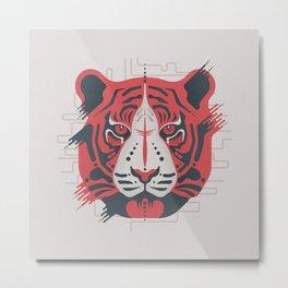 Tiger Tiger Metal Print