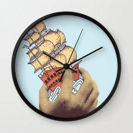 Arr! Arr! Wall Clock