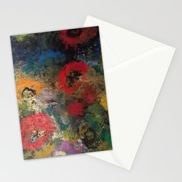 golden poppies Stationery Cards