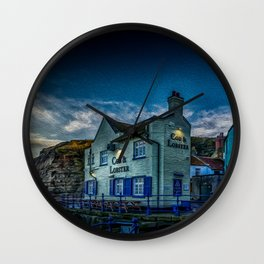 Lobster Public House Wall Clock