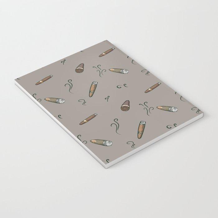 Smoky cigar pattern Notebook