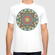 Aztec Mens Fitted Tee White MEDIUM